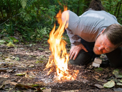 Fire making is a core survival skill