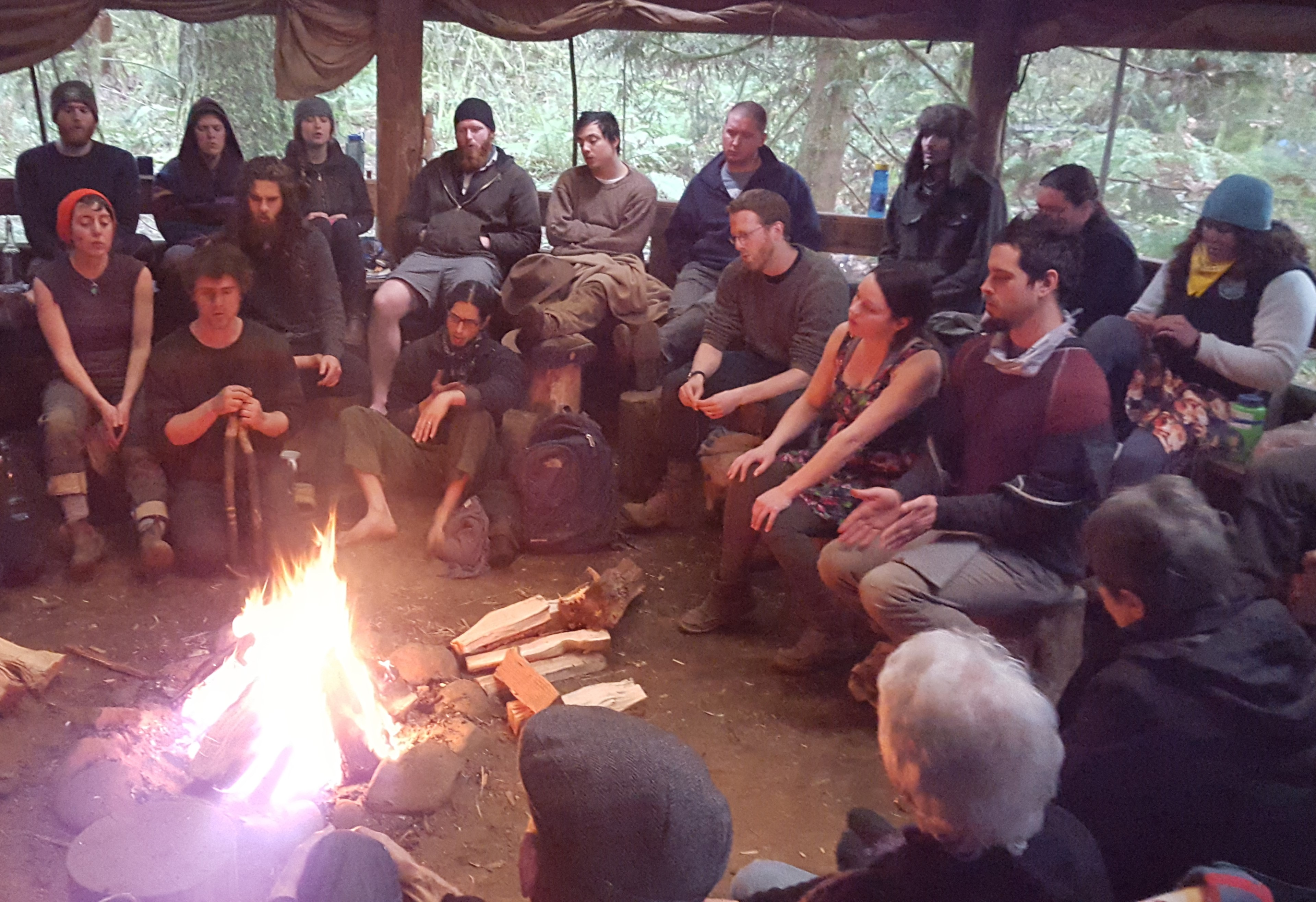 gap year, community, fire, ceremony